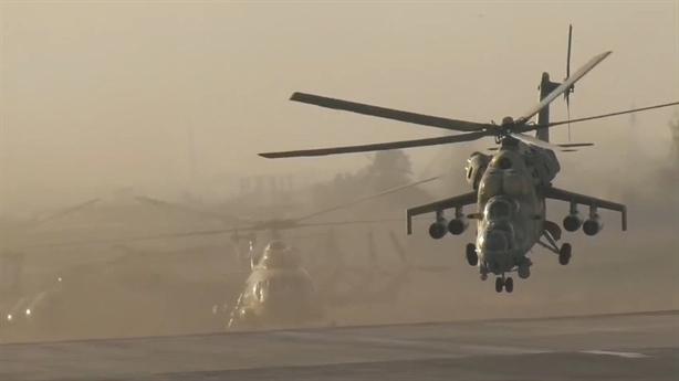 Mi-24 Ai Cập mang rocket đặc biệt diệt mục tiêu tại Libya