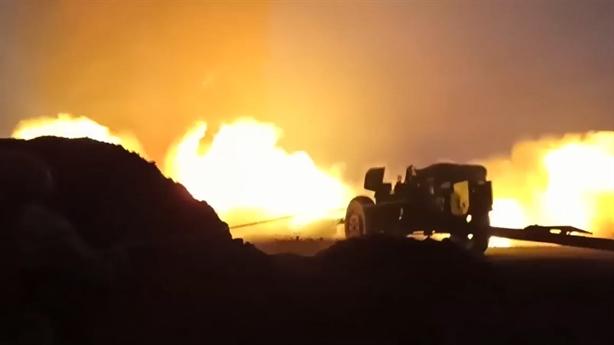 Nga công bố cảnh dập lửa bằng pháo chống tăng