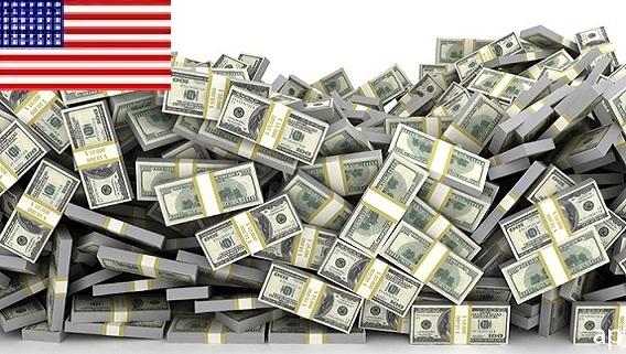 Mỹ in thêm tiền, đồng dollars mất uy quyền
