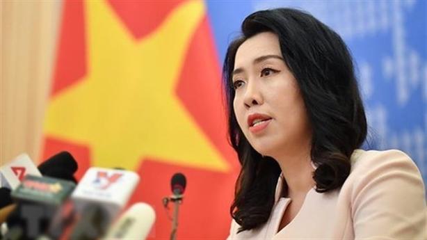 Việt Nam phản đối Trung Quốc xây cáp ngầm ở Hoàng Sa
