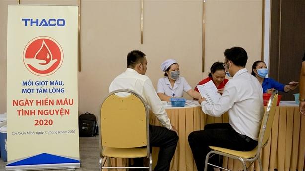 THACO tổ chức hiến máu lần thứ 14 trên toàn quốc