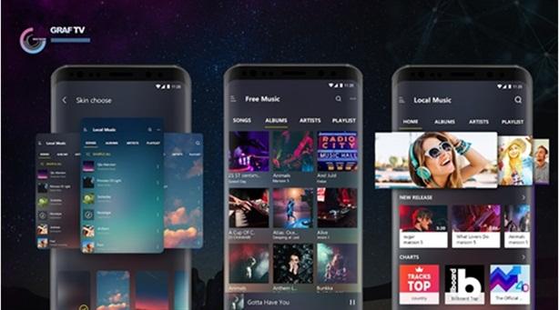 GRAFTV- Ứng dụng nghe nhạc trực tuyến sắp có tại Việt Nam