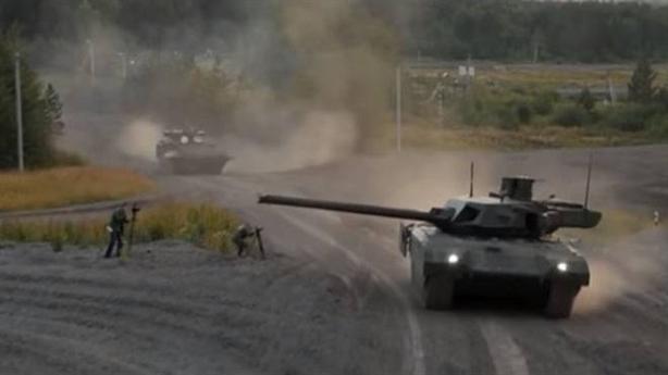 Tăng Armata bị trúng đạn tại Syria