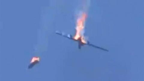 MiG-29 bắn hạ UAV Thổ trên bầu trời Libya