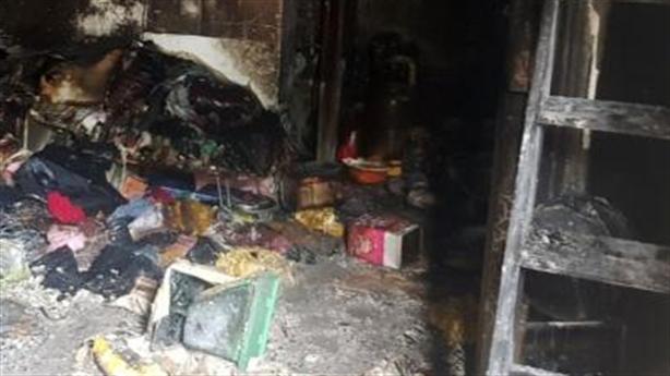 Cháy nhà 3 người chết: Đắp bùn không chảy xăng ra?