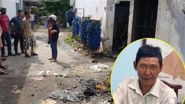 Cháy nhà 3 người chết: Lửa cháy nhanh, không kịp kêu cứu
