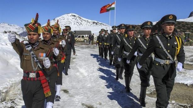 Binh sĩ Ấn Độ, Trung Quốc đấu tay đôi tại biên giới