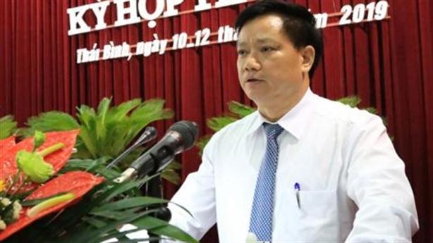 Tố PCT Thái Bình thăng tiến nhanh: Bộ Nội vụ vào cuộc
