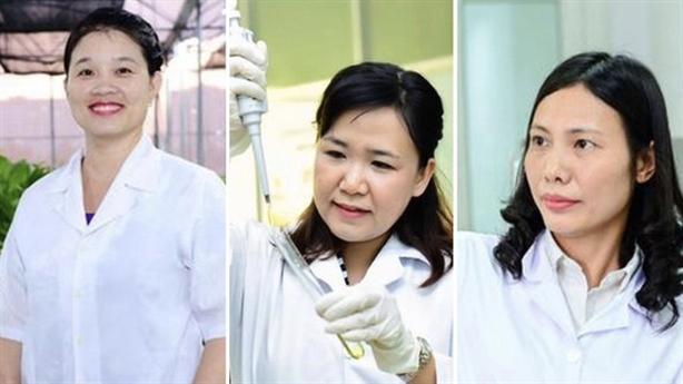 Chân dung 3 nhà khoa học nữ Việt vừa được vinh danh