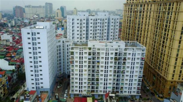Hà Nội cấm dùng tầng 1 nhà tái định cư kinh doanh