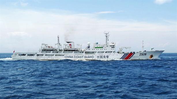 Trung Quốc cho phép lực lượng hải cảnh tham chiến?
