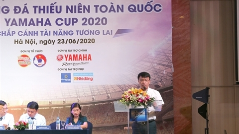 Khởi động Giải Bóng đá Thiếu niên Toàn quốc 2020