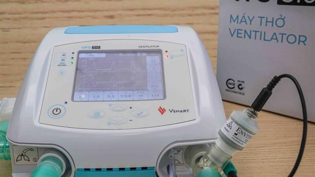 Bộ Y tế cấp số lưu hành cho máy thở VSMART VFS-510