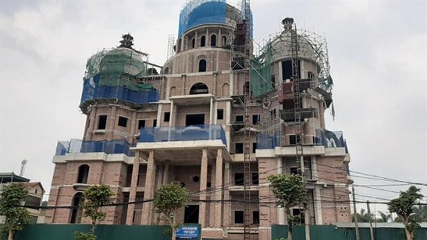 Siêu lâu đài xây sai phép: 'Không nên coi nhẹ vi phạm'