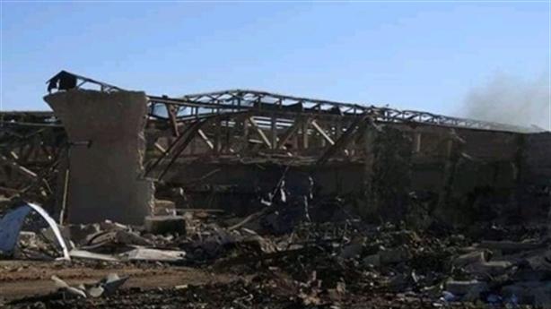 Israel công bố thiệt hại của Syria sau trận không kích