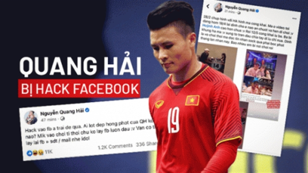 Quang Hải lộ tin nhắn nhạy cảm: 'Cầu thủ đang ảo tưởng'