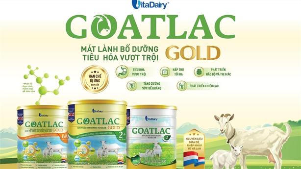 VitaDairy ra mắt sản phẩm Goatlac Gold