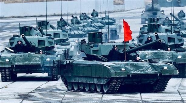 Ấn Độ chơi lớn mua gấp hàng trăm tăng Armata?