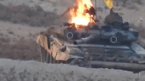 Số lượng lớn T-90 Syria 'bị phá hủy' bởi tiêm kích Isael?