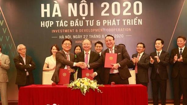 Hà Nội-Tân Hoàng Minh ký cam kết dự án 4 tỷ USD