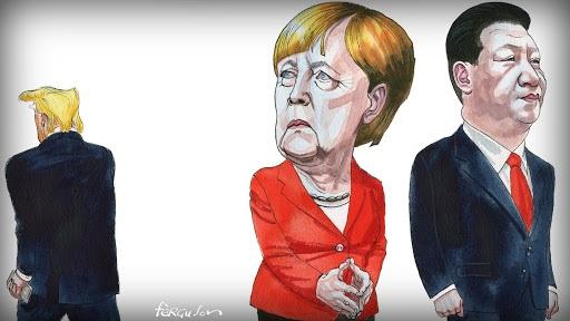 Đức rạn nứt với Mỹ, thận trọng làm ăn với Trung Quốc
