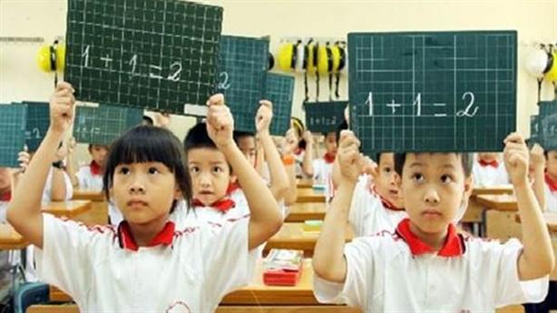Học sinh tiểu học không phải đóng học phí