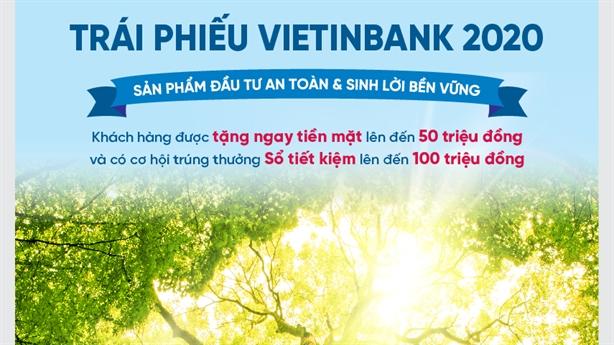Trái phiếu VietinBank năm 2020: Đầu tư an toàn-sinh lời bền vững