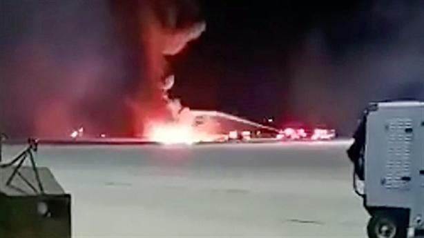Phi công Mỹ mất lái khiến F-16 lao xuống đất