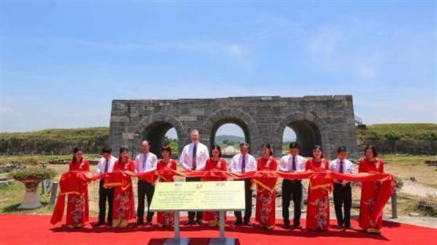 Khánh thành dự án AFCP bảo tồn di sản Thành nhà Hồ