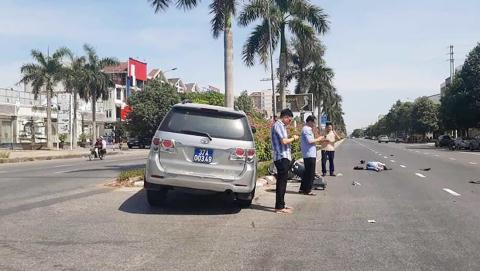 Xe của Ủy ban kiểm tra tỉnh ủy gây tai nạn