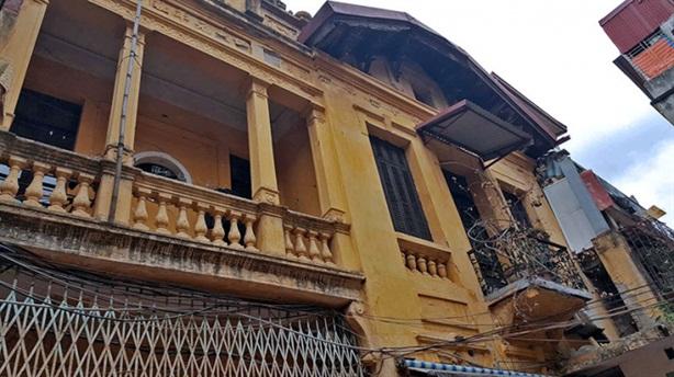 Hà Nội dừng cấp phép cải tạo, sửa chữa biệt thự cổ