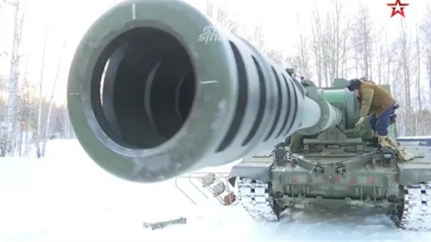 Nga biến Koalitsiya-SV thành pháo hạm cực mạnh