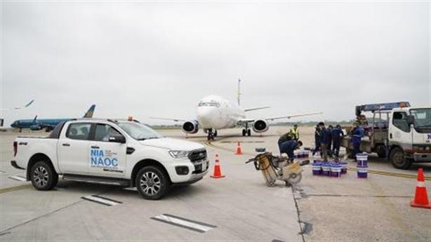 Phạt cán bộ giám sát thi công sân bay bỏ vị trí