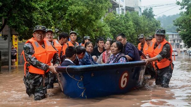 Trung Quốc tiếp tục đón đợt mưa lớn khác