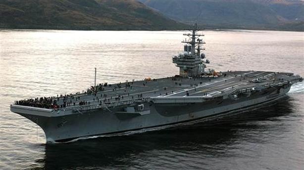 Hai cụm tàu sân bay tấn công Mỹ đã lên đường tới Biển Đông
