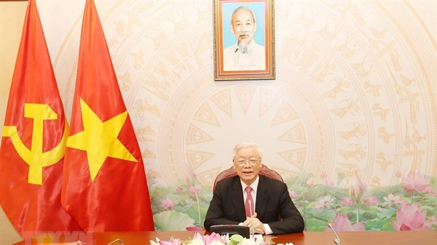 Tổng Bí thư, Chủ tịch nước điện đàm với Thủ tướng Campuchia
