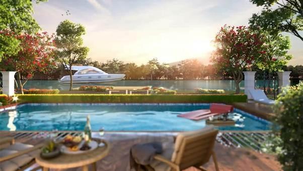 Nâng chuẩn sống tại River Park-1 đô thị sinh thái Aqua City