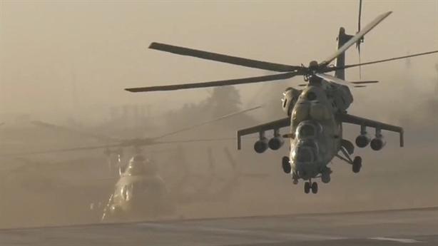 Trực thăng tấn công Ai Cập đã xuất hiện tại Libya