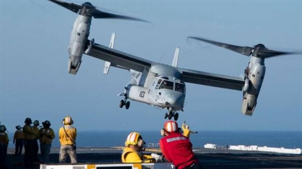 Mỹ tìm thêm được khách mua V-22B Osprey để chống Trung Quốc