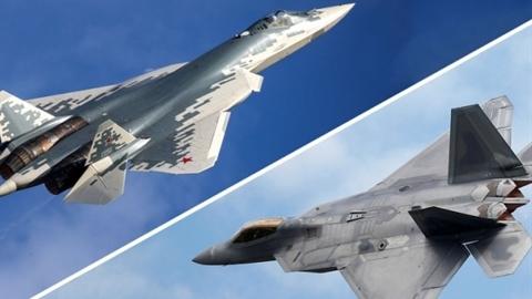 Báo Mỹ:F-22 thua Su-57 cả không chiến trong và ngoài tầm nhìn