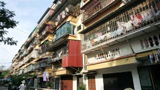 Vinaconex muốn xây lại khu tập thể cũ cao nhất 50 tầng