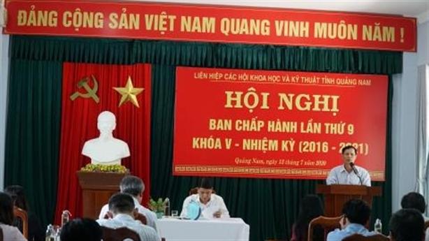 Liên hiệp hội tỉnh Quảng Nam có chủ tịch mới