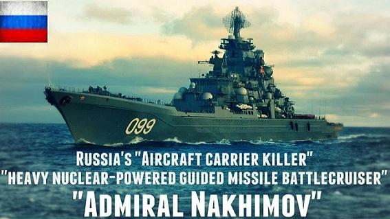 Siêu chiến hạm Nga một mình cân cả hạm đội NATO