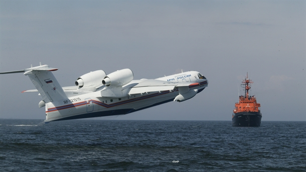 Nga trang bị tên lửa cho thủy phi cơ Be-200