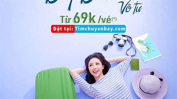 Giá vé tháng 10 Vietjet, Jetstar, Vietnam Airlines và Bamboo Airways