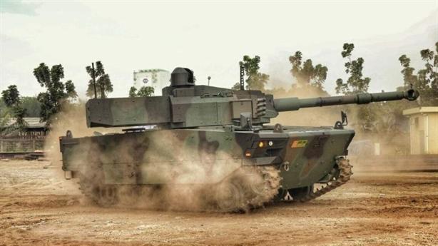 Tăng Kaplan của Thổ sẵn sàng đánh lớn tại Sirte