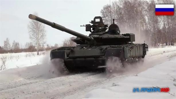 Tăng T-80BVM làm được điều không thể tại Bắc Cực