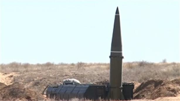 Tên lửa đạn đạo Iskander xuất hiện gần biên giới Libya
