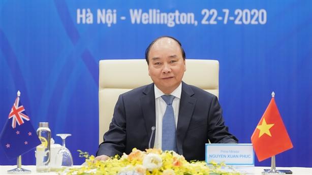 Việt Nam-New Zealand nâng cấp quan hệ lên đối tác chiến lược