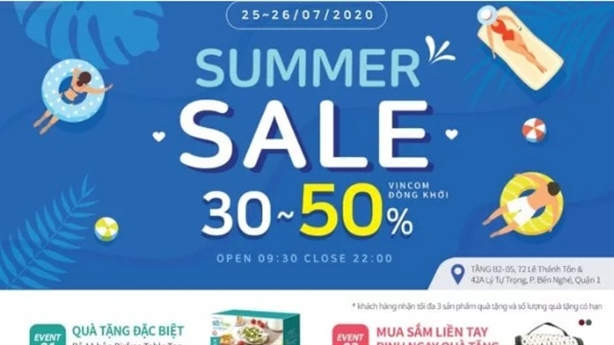 Summer Sale đến 50% –Lock&Lock Vincom Đồng Khởi ưu đãi chào hè